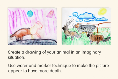 DRAWING – Observation, Memory, Imagination - Step Eight
