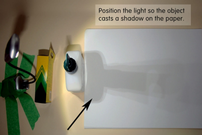 SHADOW ART – Colour, Shape, Pattern - Step One