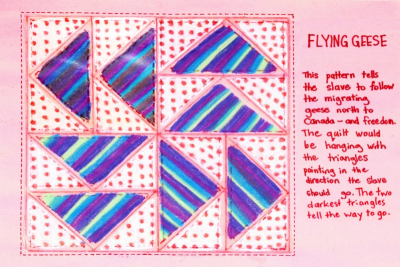 FREEDOM QUILTS – Geometry, Pattern, Controversy - Step Five