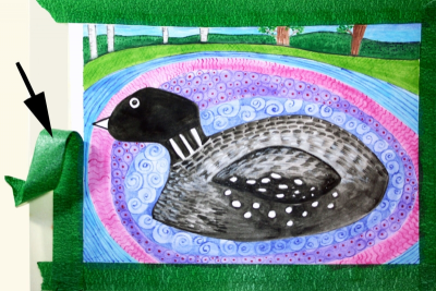 LOVELY LOONS – Line, Pattern, Balance - Step Four