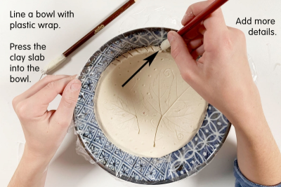 CLAY BOWL – Shape, Texture, Imprint - Step Eight