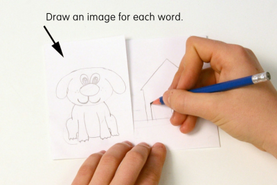 PICTURING COMPOUND WORDS – Colour, Shape, Contrast - Step Two