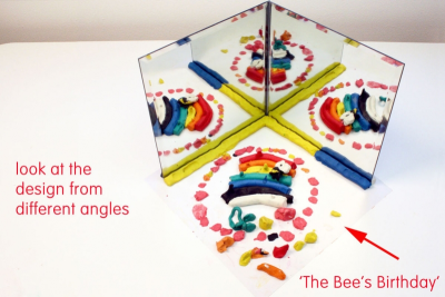 Mirror Magic – Pattern, Reflection, Angles - Step Four