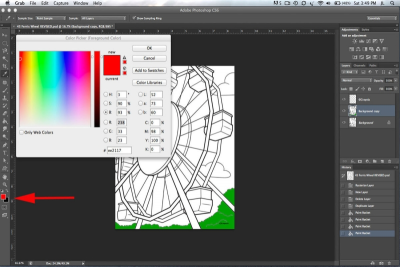 PHOTOSHOP BASICS – Adding Colour - Step Nine