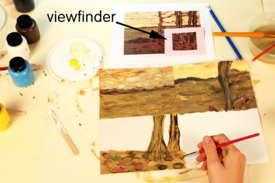 INSPIRED BY FLORENCE McGILLIVRAY – Tom Thomson, Canadian Artists - Step Two