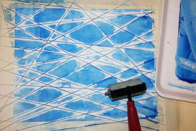 PRINTMAKING – Colour, Shape and Line - Step Six
