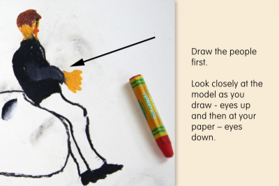 POSERS – Drawing Models in Costume - Step One