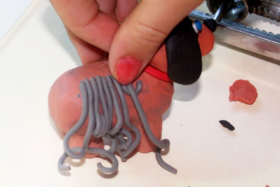 CREATING A STANDING ANIMAL –Modeling Clay - Step Eight