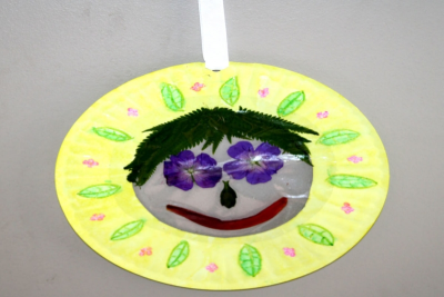 SUN CATCHER CREATIONS – Shape, Texture and Pattern - Step Ten