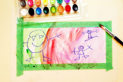 MY BEAUTIFUL NAME – Colour Mixing, Counting, Shape - Step Two