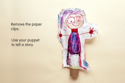 SUPER STUFFY PUPPET – Form, Colour, Pairs - Step Seven
