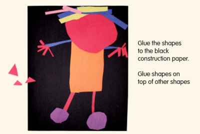 SHAPE ROBOT – Exploring Geometric Shapes - Step Two