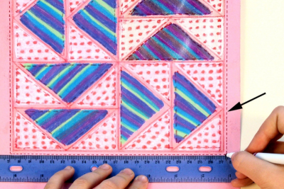 FREEDOM QUILTS – Geometry, Pattern, Controversy - Step Four