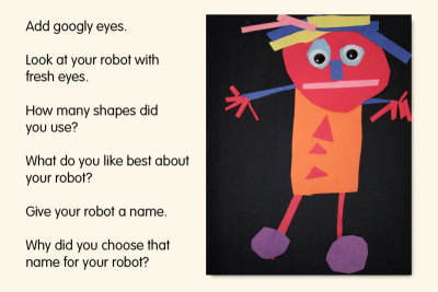 SHAPE ROBOT – Exploring Geometric Shapes - Step Three