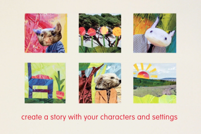 MINI STORY SQUARES – Contrast, Texture, Storytelling - Step Five