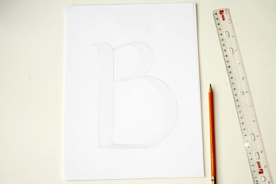 DECORATED LETTER – Pattern, Colour, Symbolism - Step Three