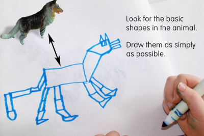 DRAWING – Observation, Memory, Imagination - Step Four