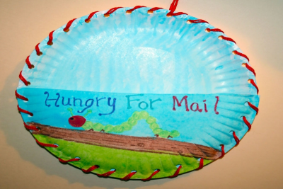 SNAIL MAIL –Creating a Message Holder - Step Seven