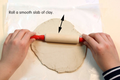SOMETHING FOR MOTHER – Clay Hanging Basket - Step One