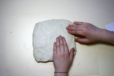 GAMES THEN AND NOW – Clay Relief Sculpture - Step Three