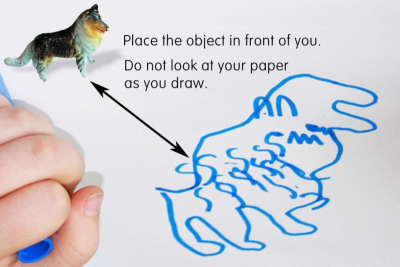 DRAWING – Observation, Memory, Imagination - Step One
