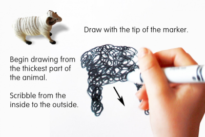 DRAWING – Observation, Memory, Imagination - Step Three