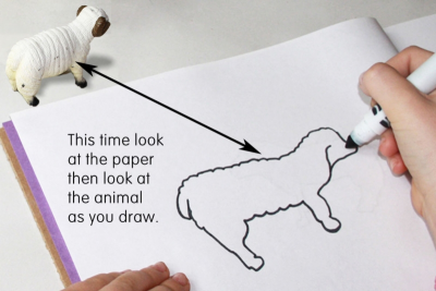 DRAWING – Observation, Memory, Imagination - Step Two