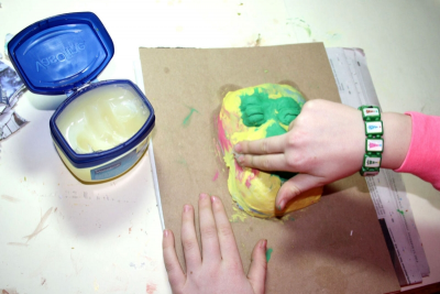 PAPIER-MÂCHÉ MASK – Form, Pattern, Contrast - Step Two