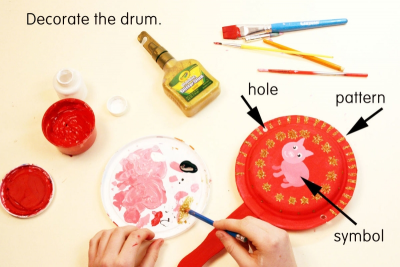 CHINESE NEW YEAR DRUM – Symbol, Pattern, Form - Step Three
