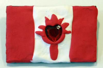 CELEBRATION BROOCHES – Colour, Canadian Symbolism - Step Five