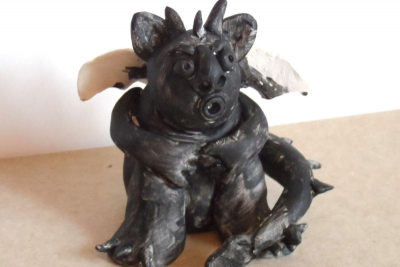 CLAY GARGOYLE – Form, Proportion, Exaggeration - Step Six