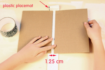 CREATING A SIMPLE BOUND BOOK – Measurement, Form - Step One