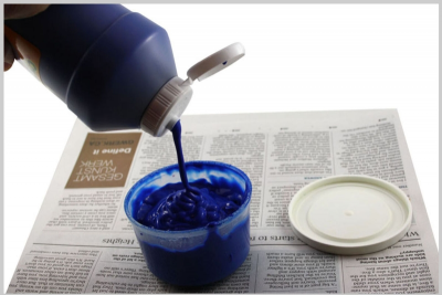 GET READY TO PAINT – Setting up Washable Tempera Paint Kits - Step One