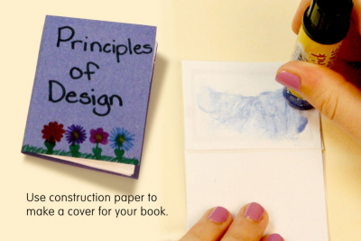 PRINCIPLES OF DESIGN – Bookmaking, Design - Step Three