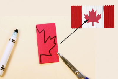 CANADA'S FLAG – Facts and Figures, Measurement - Step Four