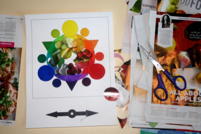 EXPLORING COLOUR – Creating a Colour Wheel - Step Five