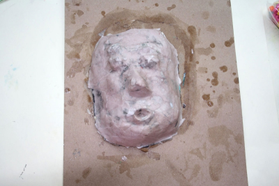 PAPIER-MÂCHÉ MASK – Form, Pattern, Contrast - Step Eight