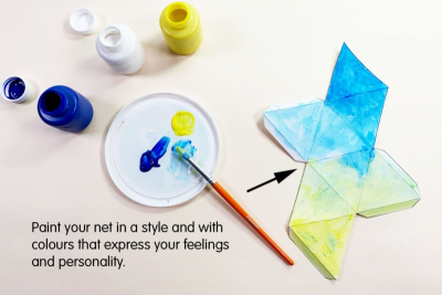 PERSONAL POLYHEDRONS – Colour, Line, Harmony - Step Two