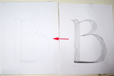 DECORATED LETTER – Pattern, Colour, Symbolism - Step Four