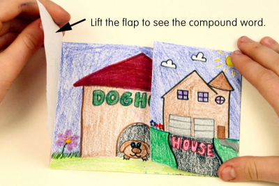 PICTURING COMPOUND WORDS – Colour, Shape, Contrast - Step Four