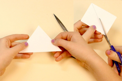 FAMILY HOLIDAY TRADITIONS – Bookmaking, Shape, Contrast - Step Four