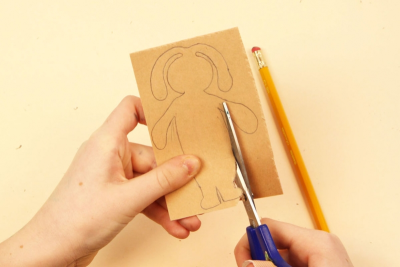 HAPPY EASTER! –Printmaking, Repetition, Colour - Step Two