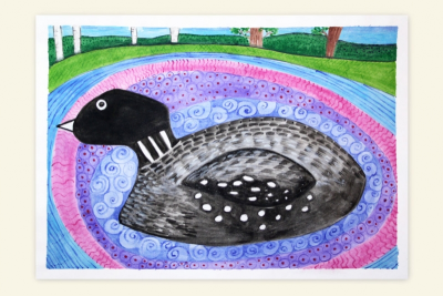 LOVELY LOONS – Line, Pattern, Balance - Step Five