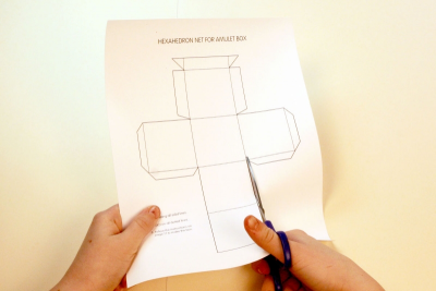 A BOX FULL OF LUCK – Geometry, Colour, Storytelling - Step One