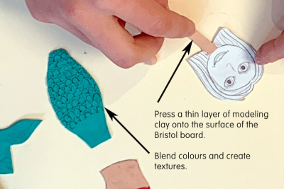 FLAT ANIMATION PUPPETS – Texture, Shape, Colour - Step Three