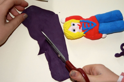 TWO FINGER PUPPET – Detail, Colour, Texture and Form - Step Eleven