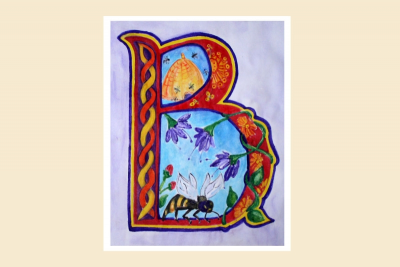 DECORATED LETTER – Pattern, Colour, Symbolism - Step Eight