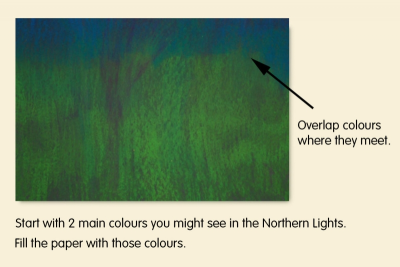 NORTHERN LIGHTS – Colour, Contrast, Space - Step One