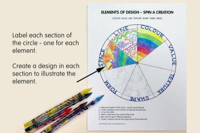 ELEMENTS SPINNER – Elements of Design - Step One