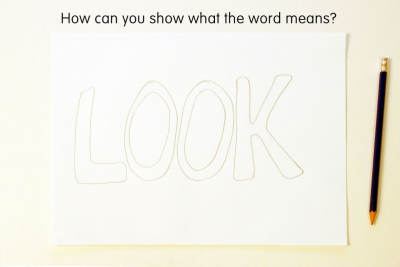 ILLUSTRATED WORD – Colour, Symbol, Shape - Step One